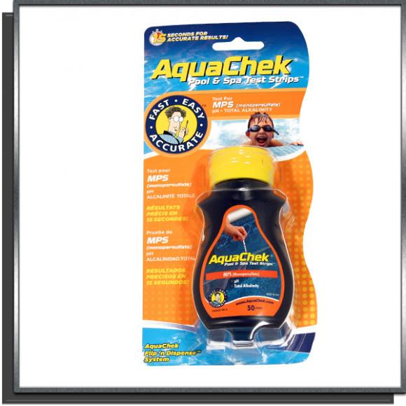 Aquachek Orange MPS test bandelettes