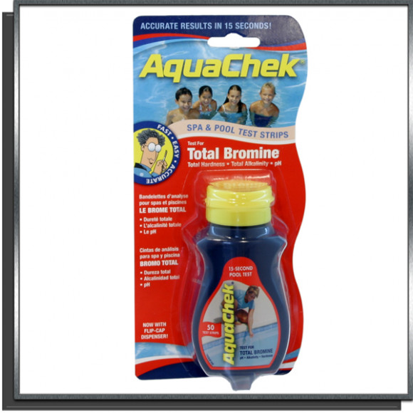 Aquachek Rouge test Brome bandelettes
