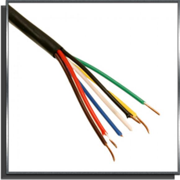 Câble électrique 7 conducteurs