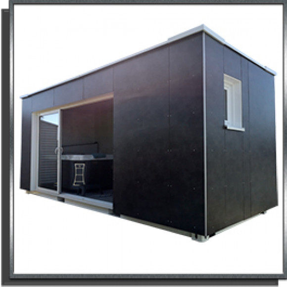 Container Spa 6m réhaussé