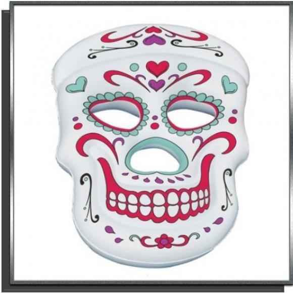 Masque mexicain magique gonflable pour piscine