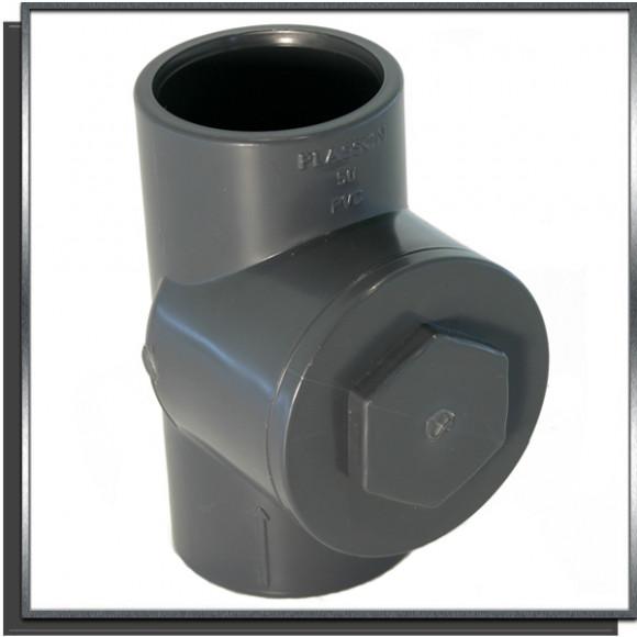 Clapet anti-retour à battant PVC Ø50