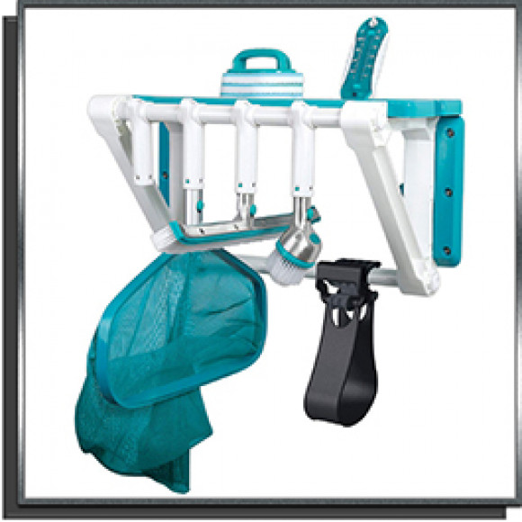 Kit porte-accessoires avec 6 accessoires Bayrol