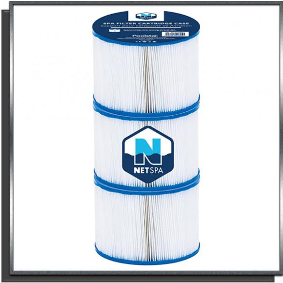Lot de 3 cartouches de filtration pour spa NetSpa
