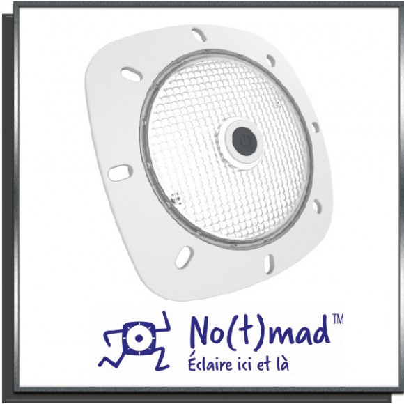Projecteur LED mobile No(t)mad Blanc