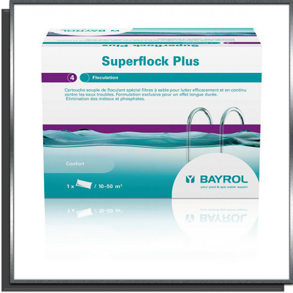 Superflock Plus Bayrol 1kg
