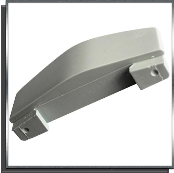 Ailette fixe 30mm Gris pour lame PVC couverture automatique Sofatec