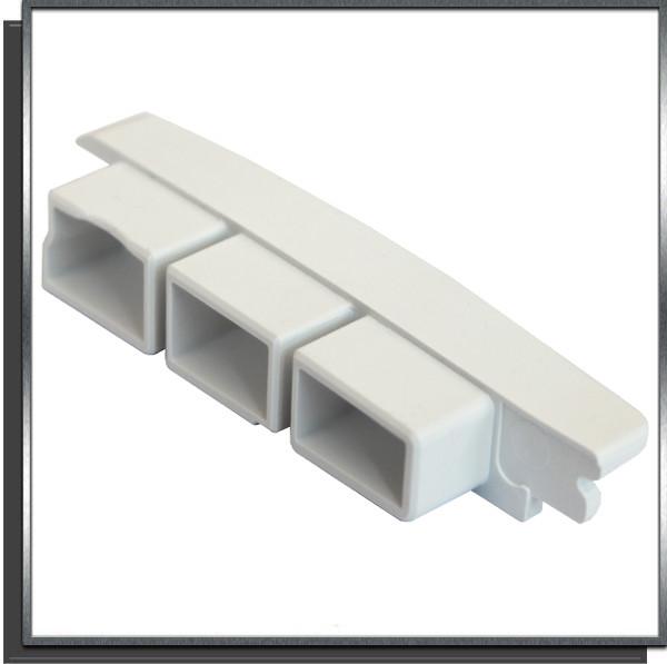 Bouchon plat G à coller Blanc lames plates couverture automatique SOFATEC