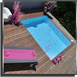 Kit piscine 3.5x2.75x1.50 avec échelle