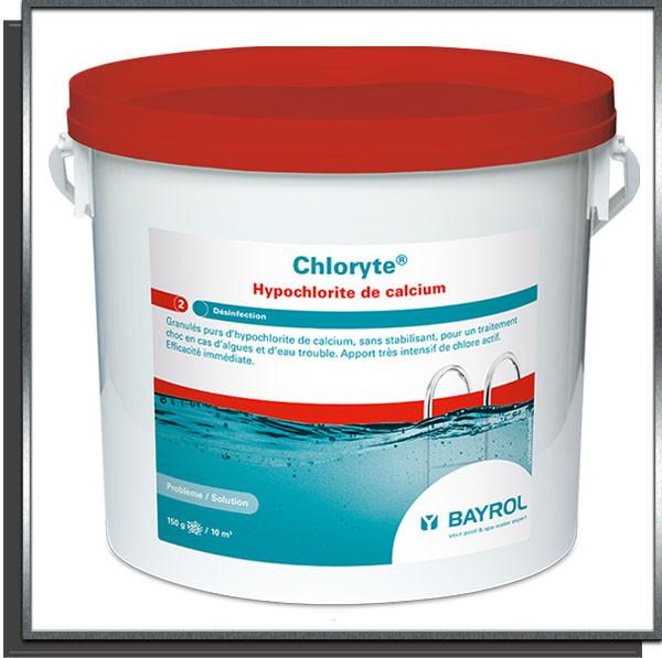 Chloryte Chlore choc non stabilisé 5Kg Bayrol