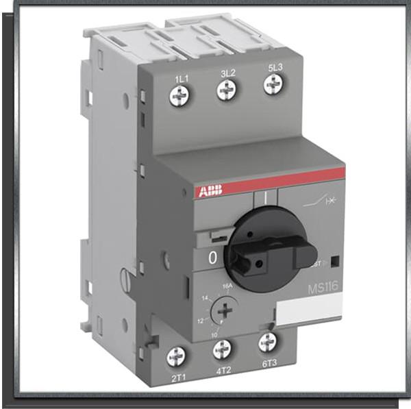 Disjoncteur manuel MS116-16 10-16 A ABB