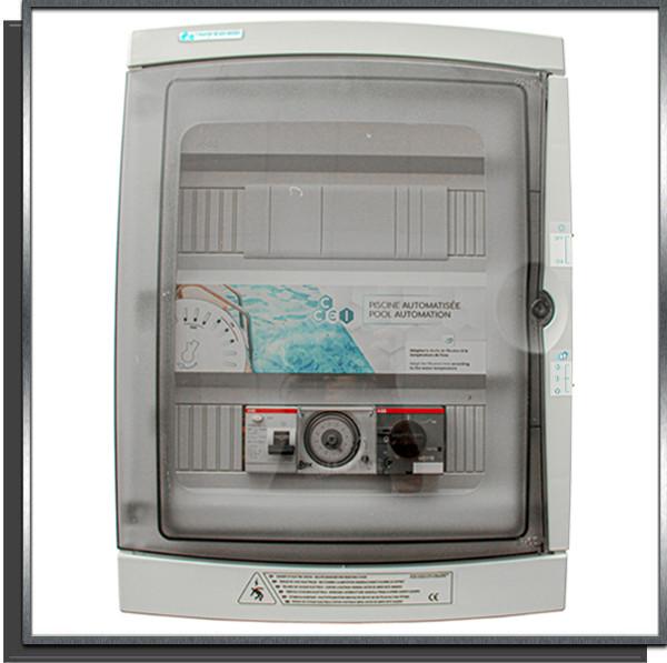 Coffret électrique piscine projecteur LED 100W PA-310 ID avec différentiel 30mA