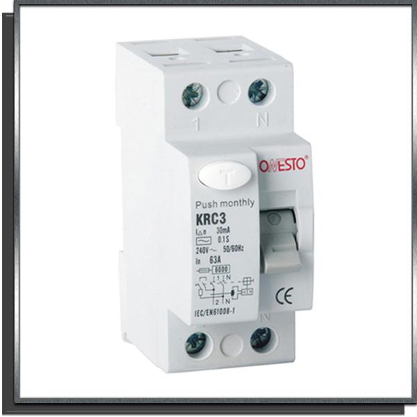 Disjoncteur à courant résiduel KRC3 40A 30mA AC ONESTO