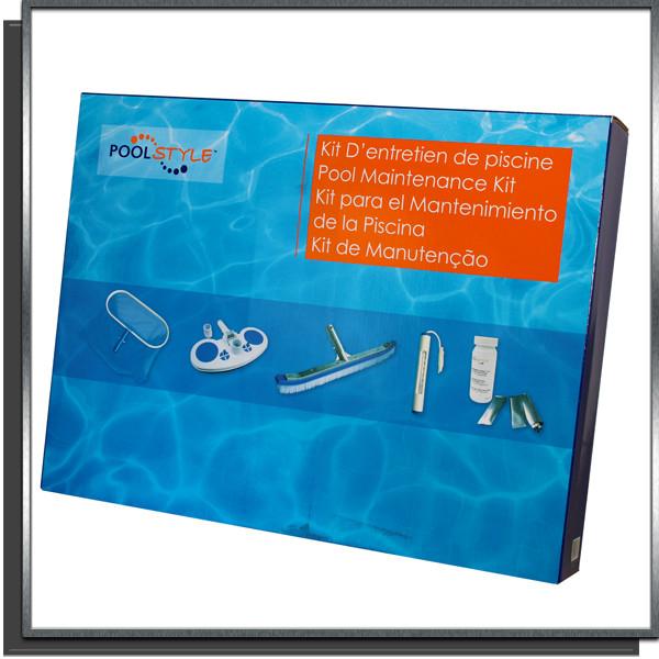 Kit d'entretien des piscines