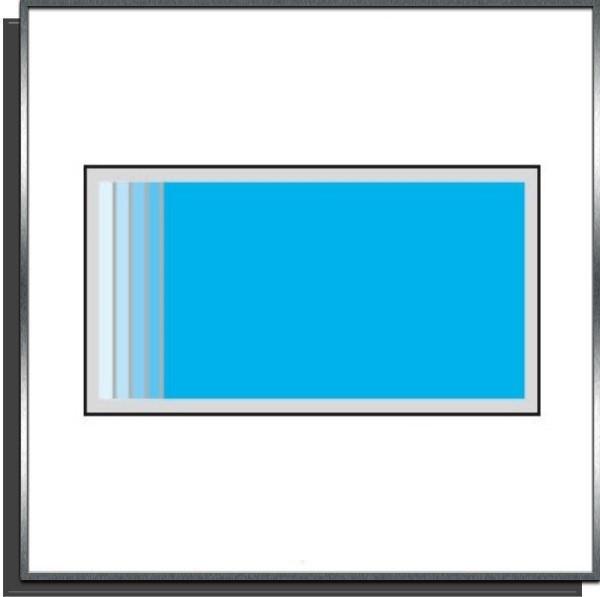 Kit piscine 7x3x1.50m escalier sur largeur
