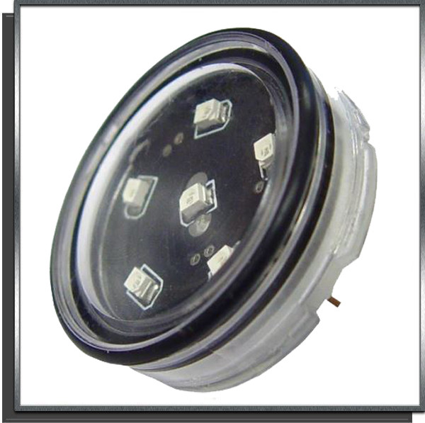 Eclairage Led Unit x6 12V 1W GU5.3 blanche
