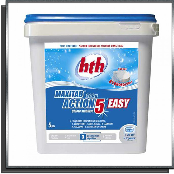 Maxitab 200g Action 5 easy 5Kg HTH
