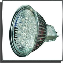 Eclairage Led MR16 12V 2W GU5.3 chaude