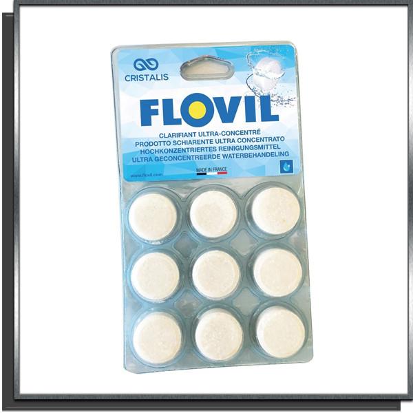 Flovil clarifiant ultra-concentré 9 pastilles