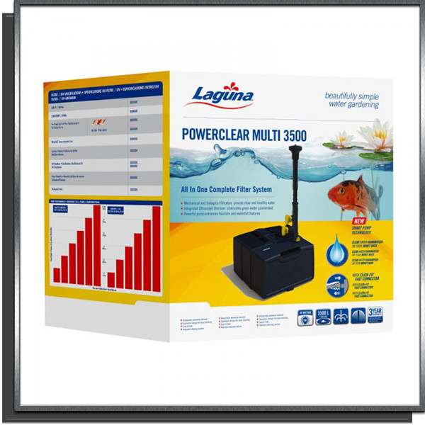 Kit filtration Powerclear 3500 Laguna PT1815