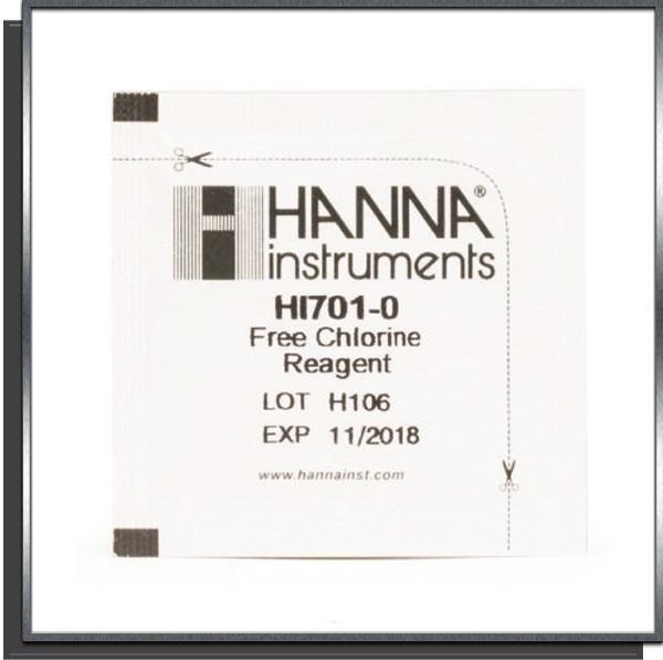 Réactifs pour Checker HC Chlore libre x25