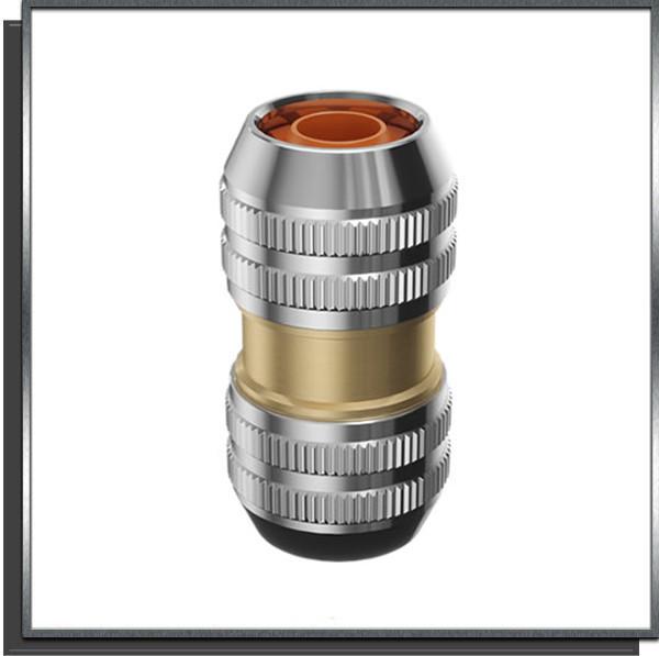 Raccord réparateur Ø12-15 laiton chromé Claber