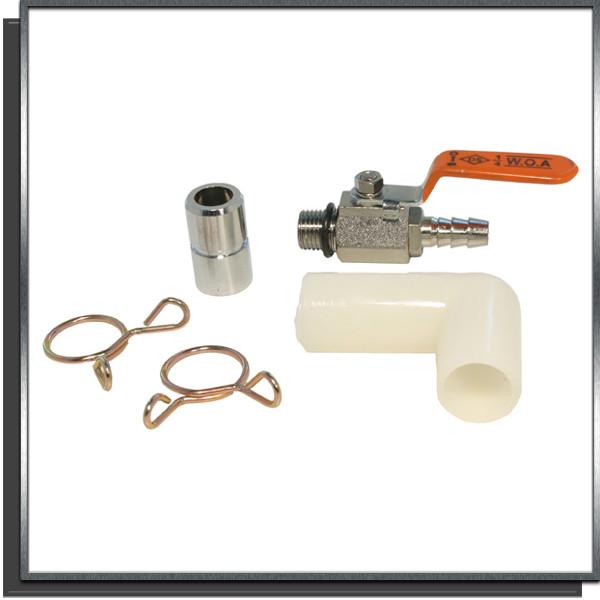 Raccord réducteur avec vanne 18-9mm