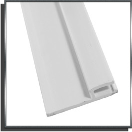 Rail Hung PVC horizontal 2m