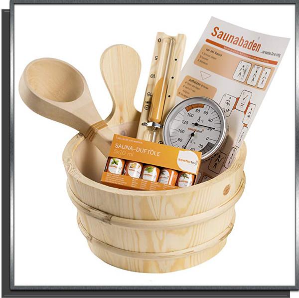 Kit complet 11 pièces pour sauna