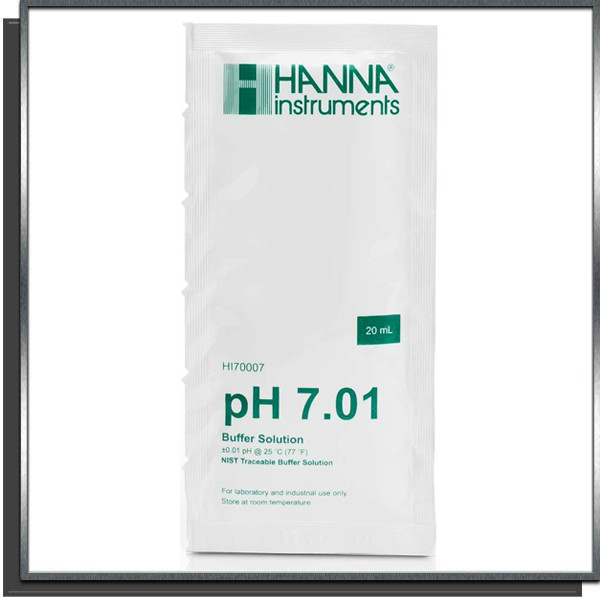 Solution tampon calibrage pH 7 sondes pH