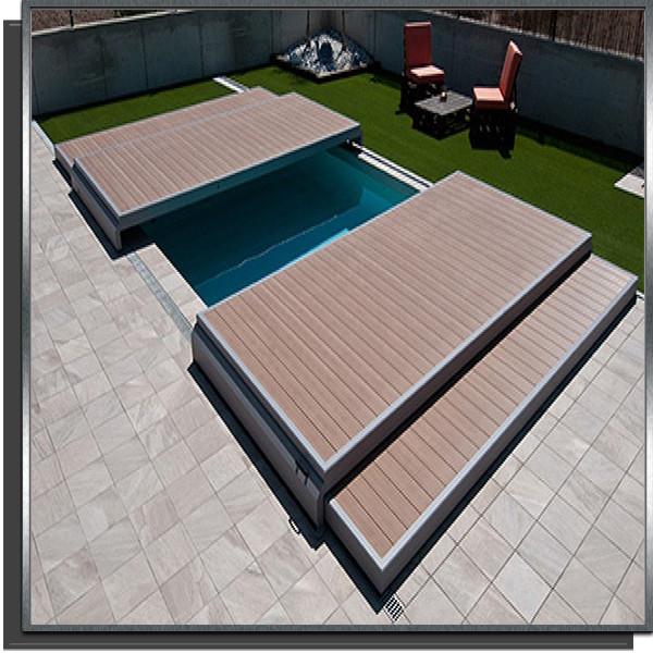 Terrasse Deckwell 7 x 3.5m
