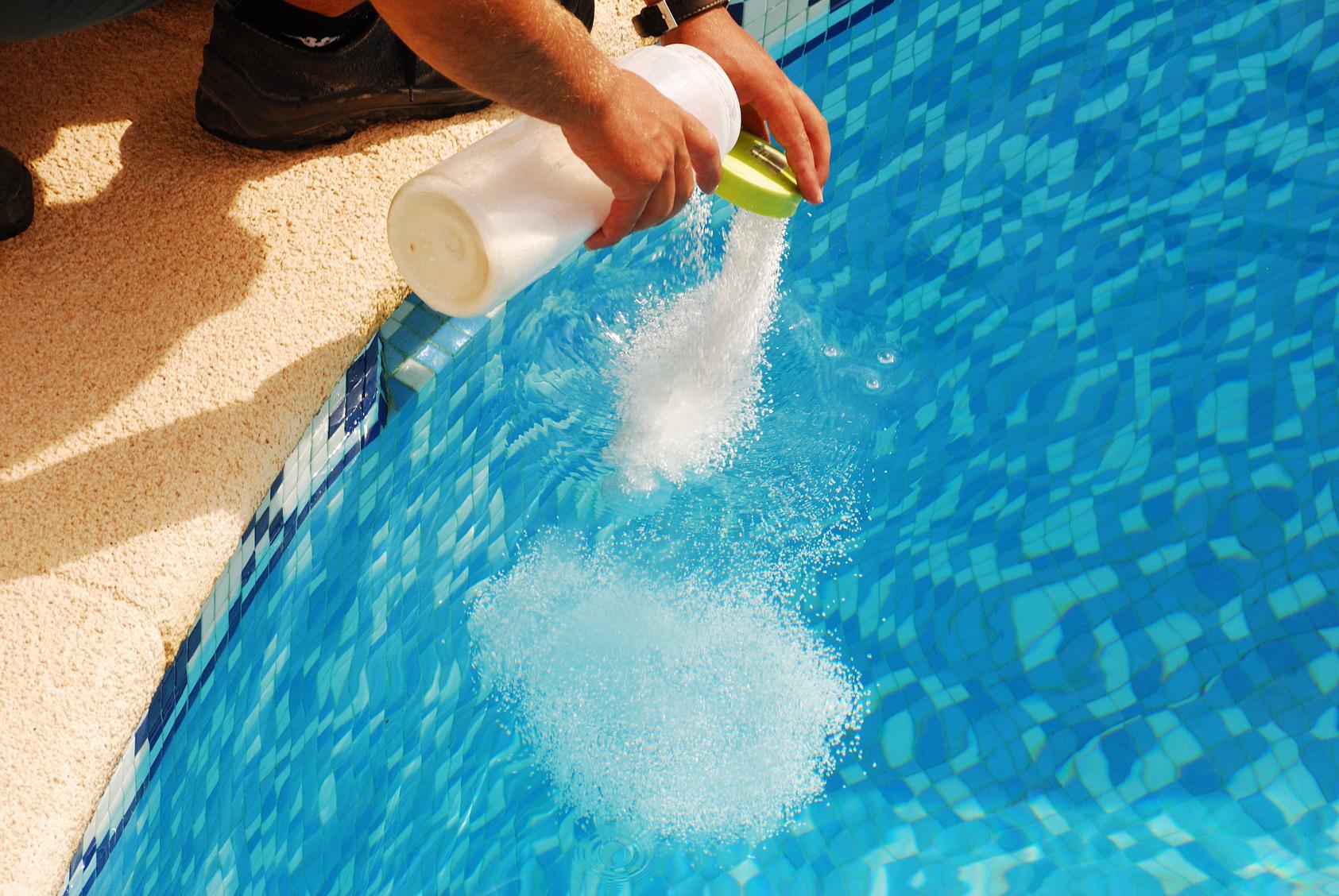 Entretien de votre piscine.