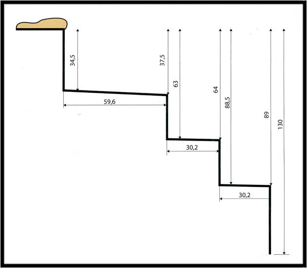 Populaire Escalier Droit En Polyester Sous Liner Pour Piscine Pas Cher ZE55
